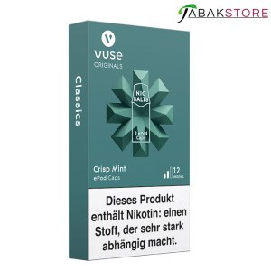 Vuse-ePod-Caps-Crisp-Mint-12-mg-ml-Nikotin-links-seitlich