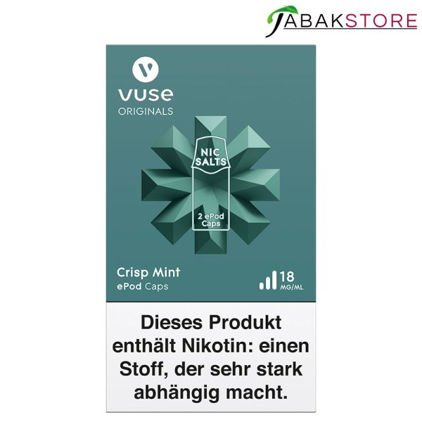 Vuse-epod-caps-crisp-mint-18-mg