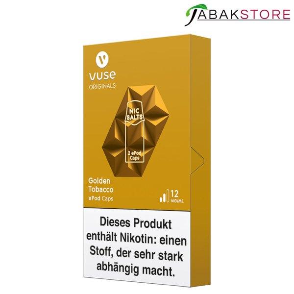 Vuse-epod-caps-golden-tobacco-12-mg-rechts-seitlich