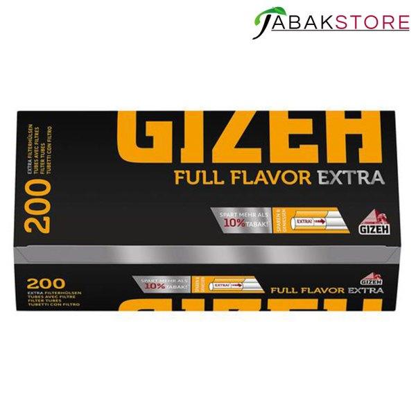 GIZEH-Full-Flavor-Extra-Hülsen