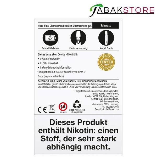Vuse-epen-3-Device-Kit-schwarz-rückseite