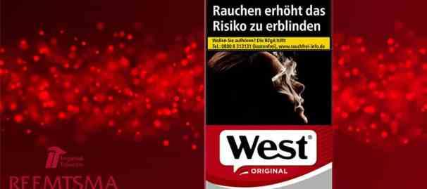 Reemtsma-West-Red-Zigaretten