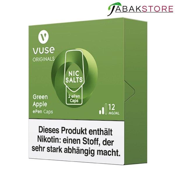 Vuse-epen-cap-green-apple-rechts-seitlich-12-mg