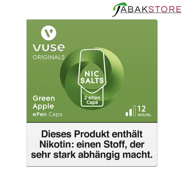 Vuse-epen-caps-green-apple-12-mg