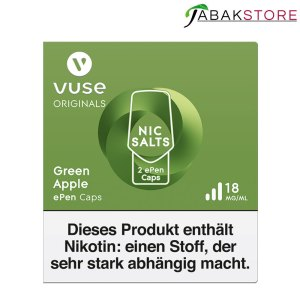 Vuse-epen-caps-green-apple-18-mg