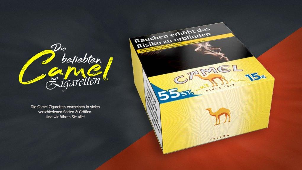 Camel-Zigaretten-Header-Bild