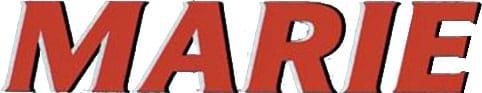 Marie-Zigarettenpapier-Logo-Blättchen