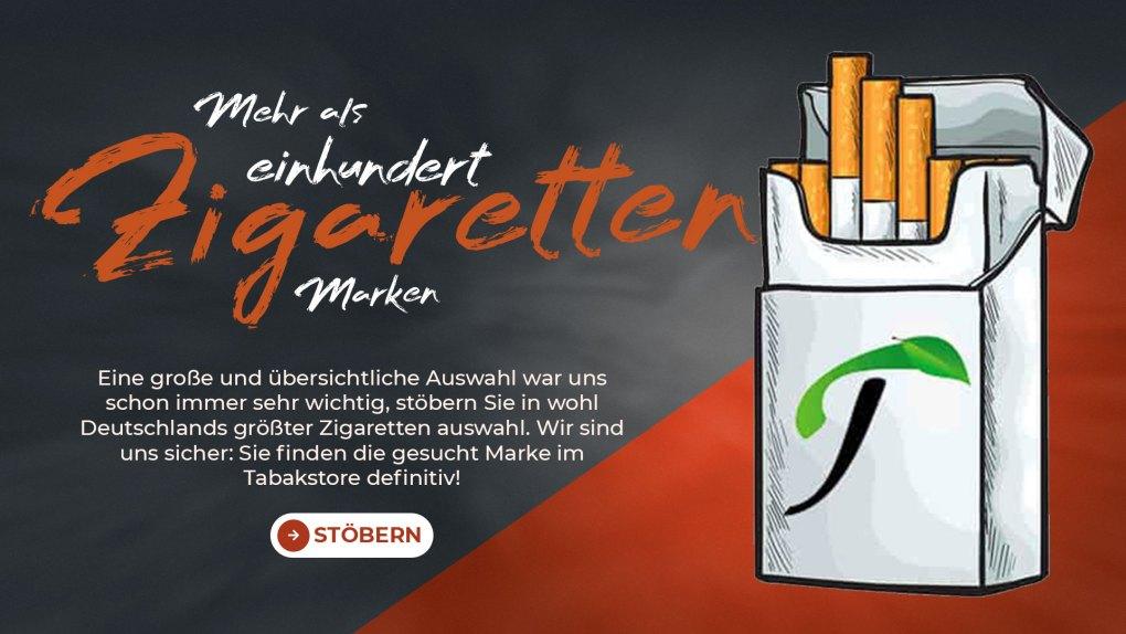 Zigarettenmarken-Headerbild