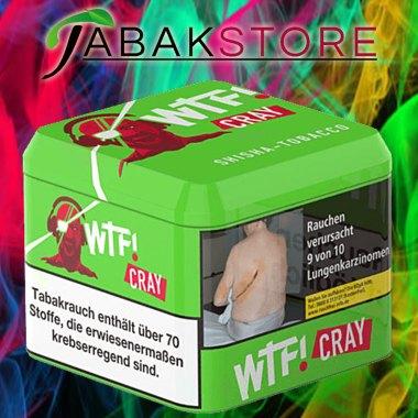 Wtf Shisha Tabak Cray mit einem schönen Hintergrund