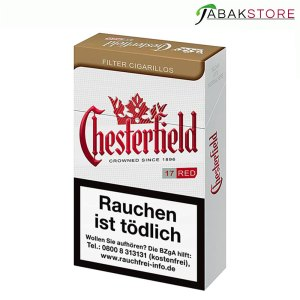 Chesterfield-Red-Zigarillos