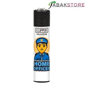 Clipper-Homeofficer-Polizist