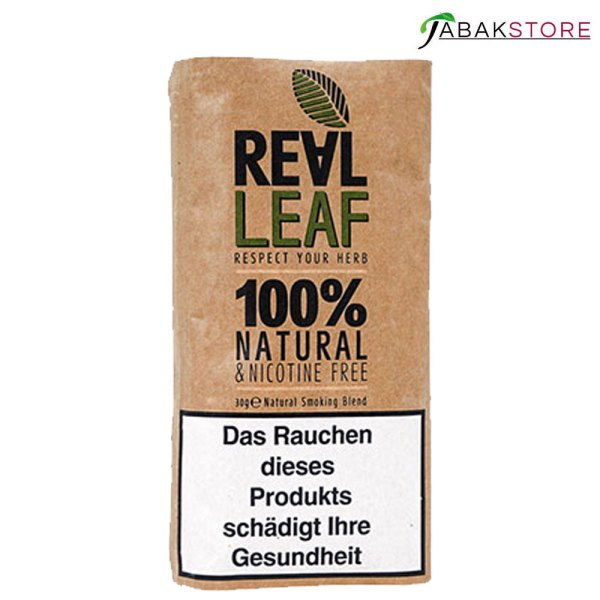 Real Leaf Natural Classic Tabakersatz