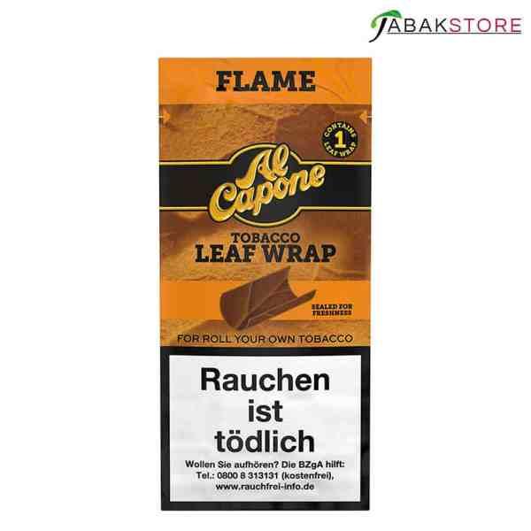 Al-Capone-Tobacco-Leaf-Wrap-Flame