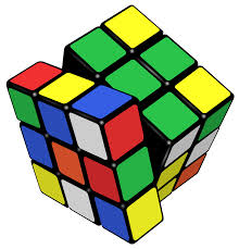 A traditional Rubik's Cube