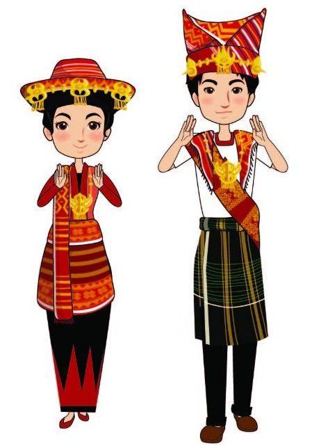Pakaian Adat Sumatera Utara : Batak Karo, Simalungun ...