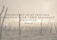 ayat alquran tentang kematian