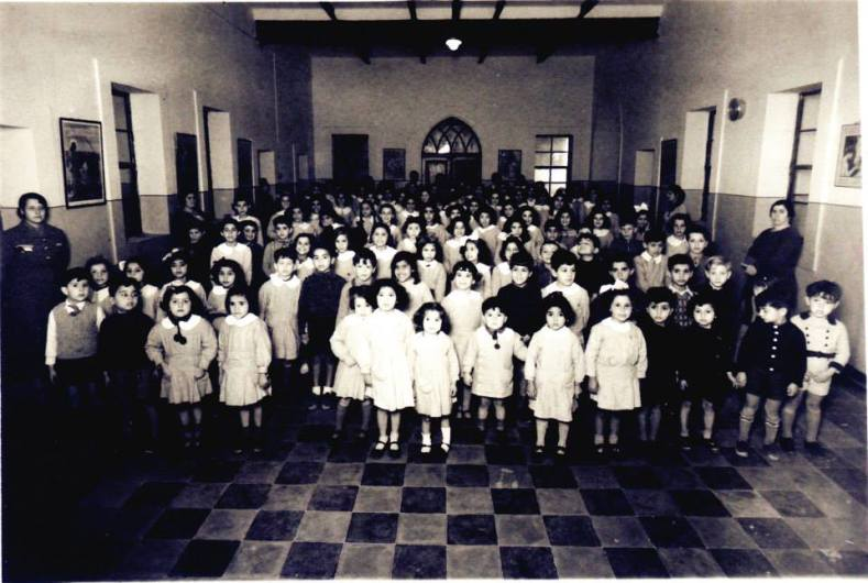 Tabeetha School and pupils 1938