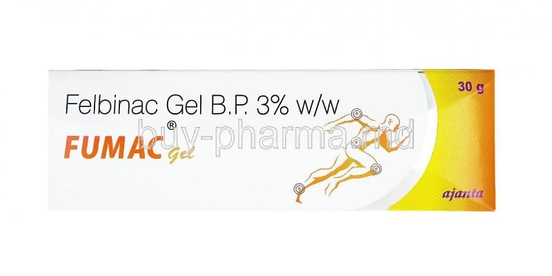 دواء فلبيناك Felbinac دواعي الاستخدام والآثار الجانبية