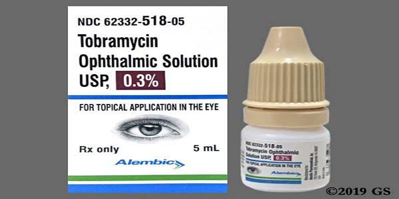 قطرة العين توبراميسين Tobramycin لالتهابات العين
