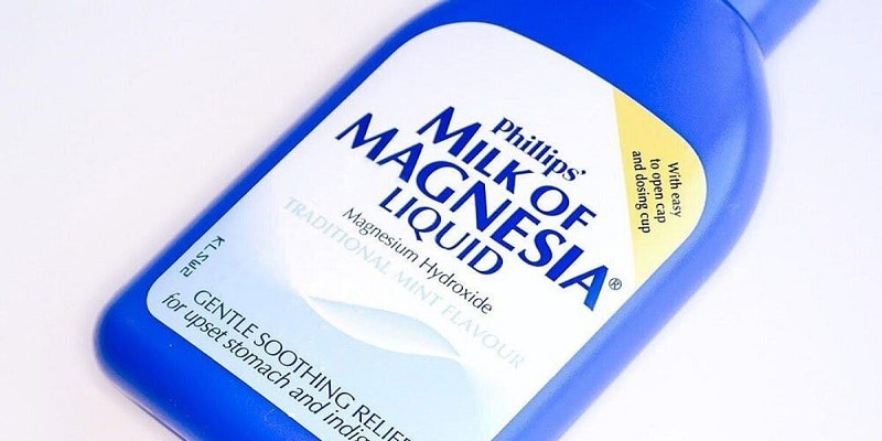 حليب المغنيسيا Milk of Magnesia لعلاج الإمساك الجرعات والمحاذير