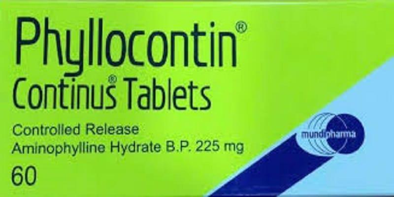 دواء فيلوكونتين Phyllocontin دواعي الاستخدام الجرعات والمحاذير