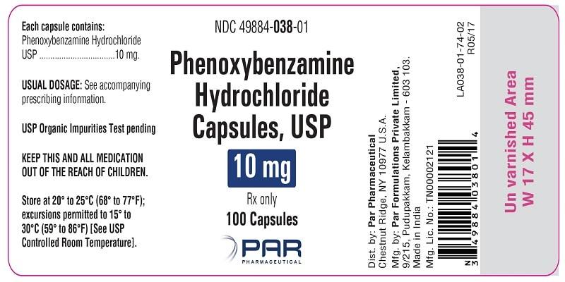 دواء فينوكسي بنزامين Phenoxybenzamine لارتفاع ضغط الدم