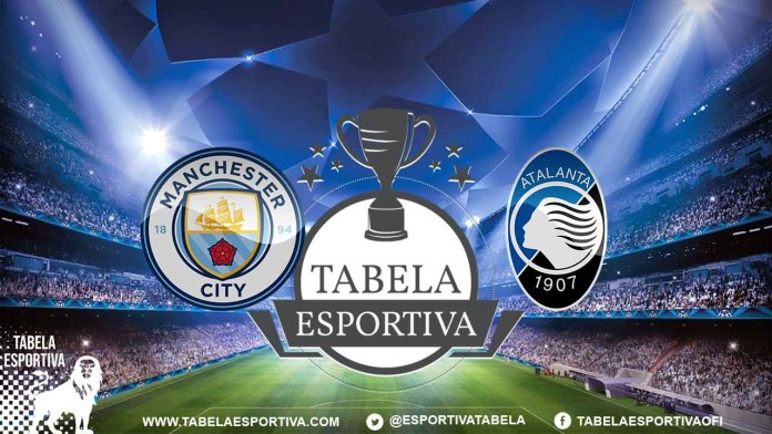 Onde a assistir a Manchester City x Atalanta 22/10/2019 – Champions League