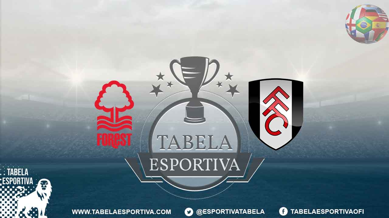 Nottingham Forest x Fulham face off on Tuesday (6), at 13h (Brasília time) for the 41st round of Championship 2019/20 in its 2019/20 edition. The mat