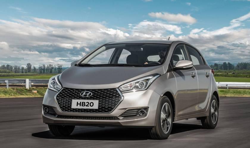 Os 5 carros mais vendidos no 1° semestre de 2018