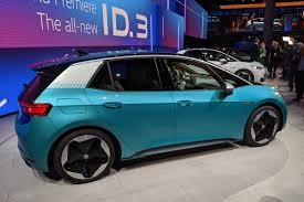 Volkswagen Id.3: Família Elétrica Id. Estreia Em Frankfurt