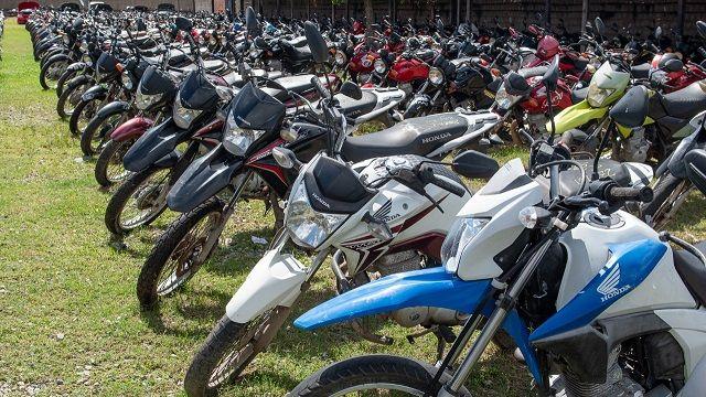 Detran promove leilão virtual com 784 lotes de veículos apreendidos
