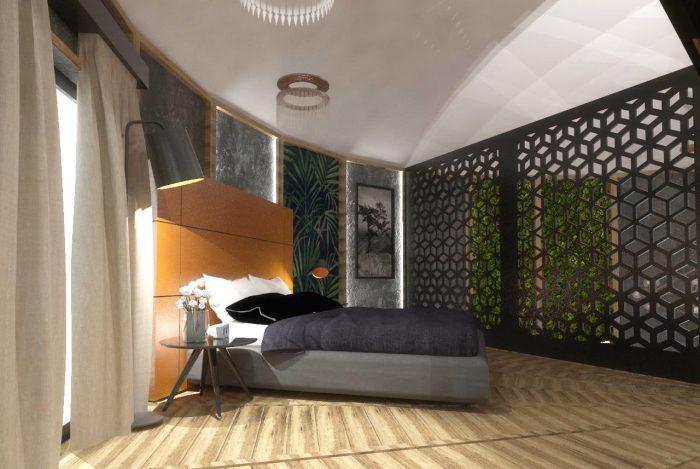 sypialnia dom normobaryczny