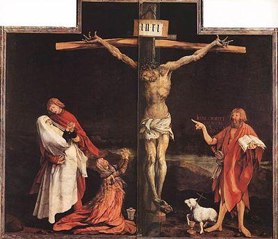 400px-Matthias_Grünewald_-_The_Crucifixion_-_WGA10723