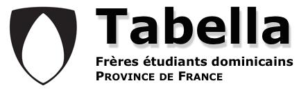 Tabella – Frères étudiants dominicains – Province de France