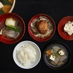 HIGASHIYA GINZA - 一汁三菜