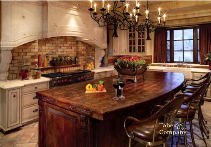 Furniture Old World Mediterranean Dining Room Kitchen Bedroom