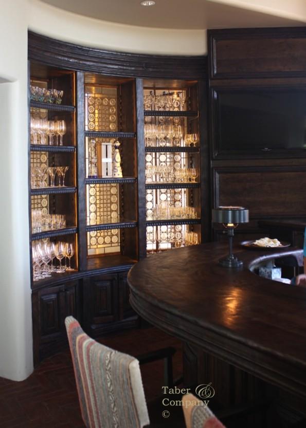 custom bar millwork highend