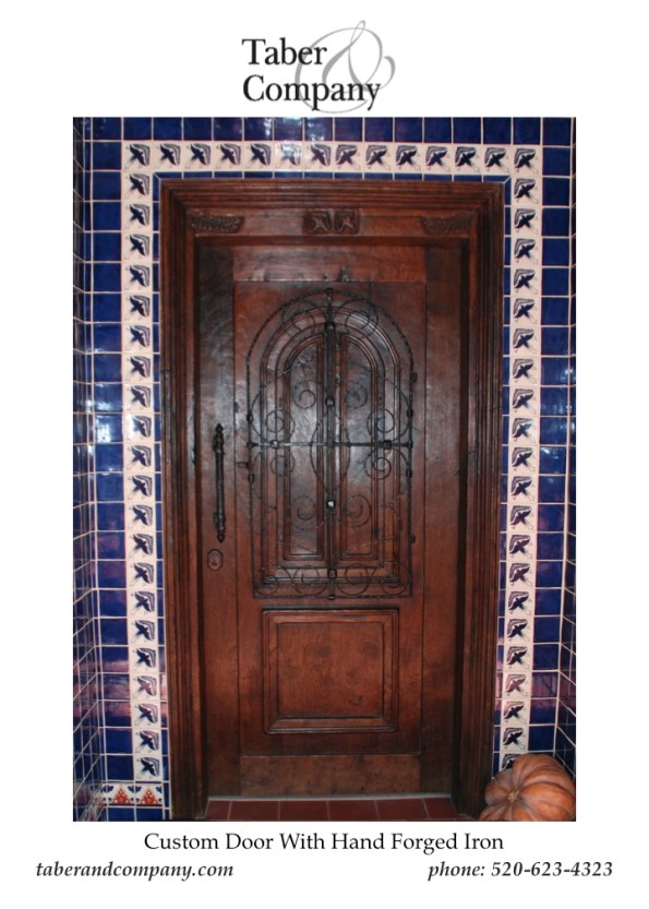 Door Wood Iron Hacienda,Solid wood Door With Glass and Iron, Solid Wood Door Arizona, Solid Wood Entry Doors, Arch Entry Door, Custom Wood Exterior Door, Craftsman Door, Wood Door With Sidelights, Mediterranean Style Door, Hacienda Style Wood Front Door, Spanish Style Wood Door, Santa Barbara Style Door, Luxury Wood Doors, High End Custom Doors, Doors For Mountain Homes, Traditional Style Front Doors, Doors Arizona, Doors California, Doors Utah