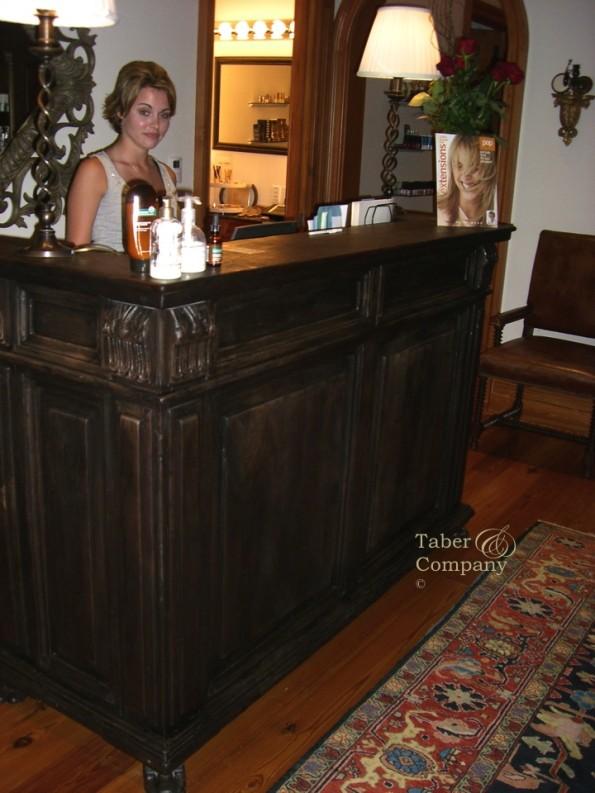 Millwork at The Cloister Sea Island Resort & Spa. Custom Cabinetry & Millwork for the Cloister Resort Addison Mizner–designed Mediterranean-style resort