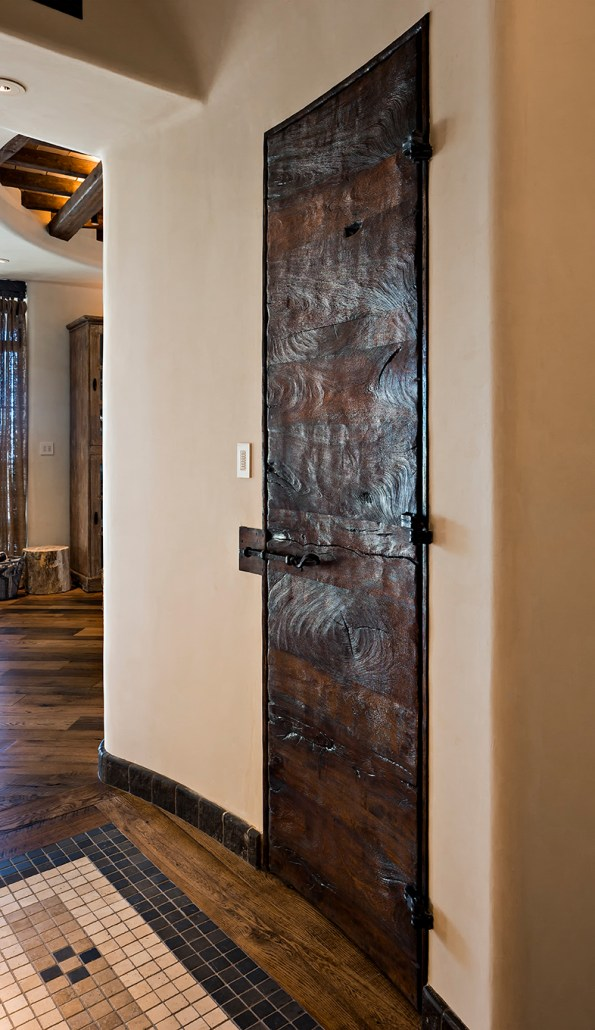 custom mesquite door, wooden door, custom doors