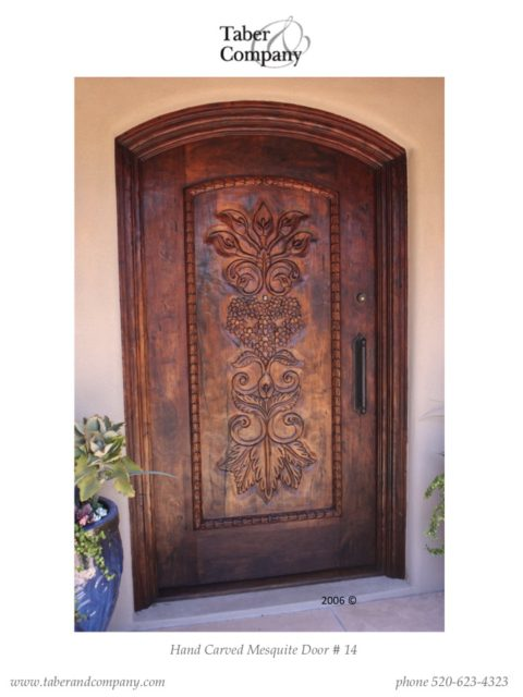 Arched Wood Entry Doors Wooden Entry Door Taber