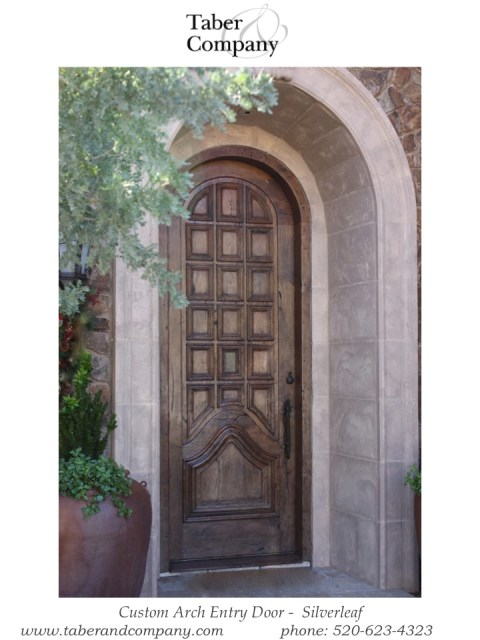 Arched Wood Entry Doors Wooden Entry Door Taber Companytaber