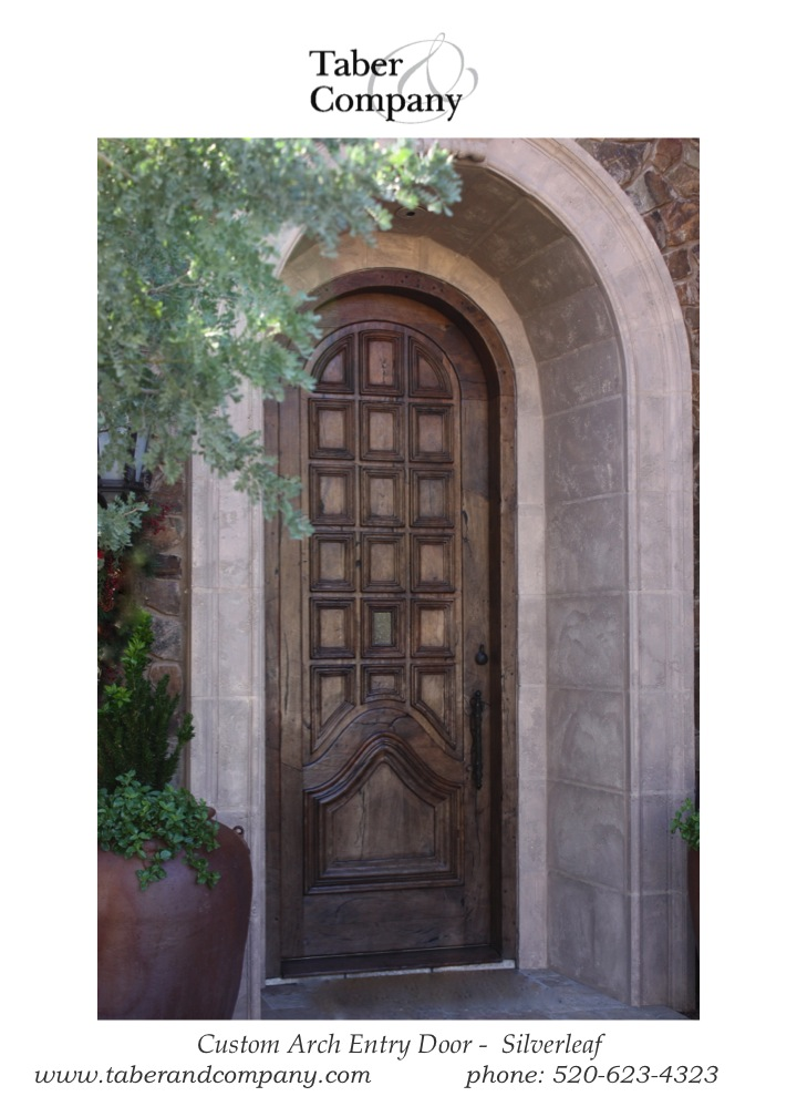 Arched Wood Entry Doors U2013 Wooden Entry Doors. Radius Top ...
