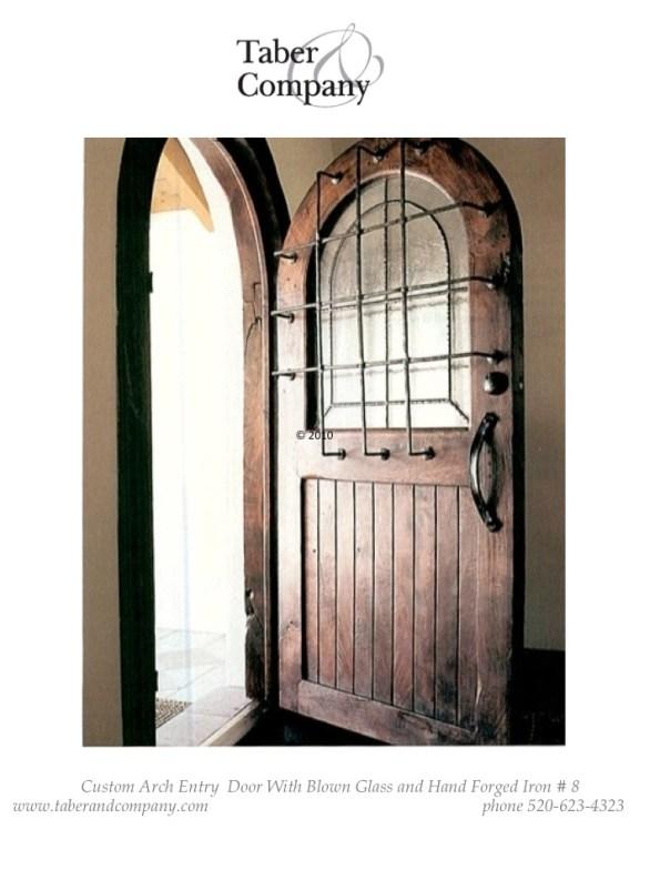 arched top door with arch wooden entry door