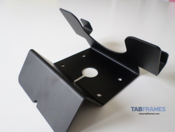 reverse angle of Maclocks Compulocks Universal Tablet Holder