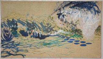 Oil on canvas, 33.5x58cm.