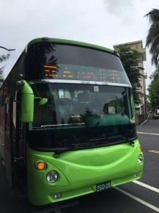 北港行きバス