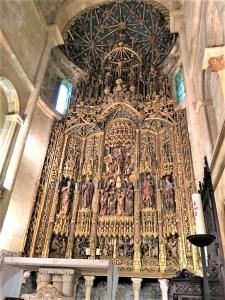 コインブラ大聖堂内部1