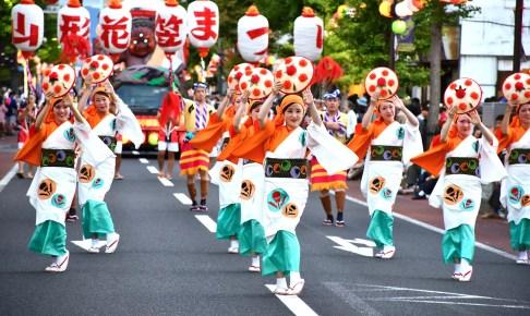8月5日・山形花笠まつり