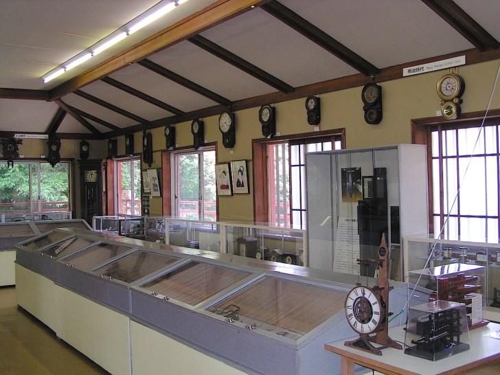 近江神宮の時計館宝物館